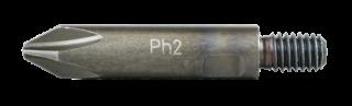 RT-TBIT-PH2 Screwdriver bits Phillips 2 with thread M6