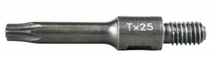 RT-TBIT-TORX25 T25 screwdriver bits with thread M6
