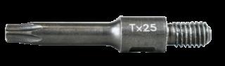 RT-TBIT-T25/M6 T25 screwdriver bits with thread M6