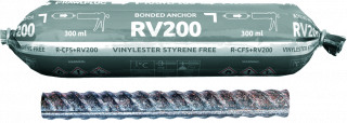 RV200 with Post-Installed Rebar (CFS+)