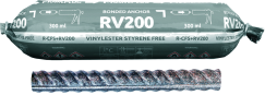 RV200 with Rebar as an Anchor (CFS+)