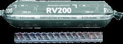 RV200 su vėliau montuojamu armavimo strypu (CFS+)