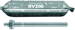 RV200 with Threaded Rods (CFS+)