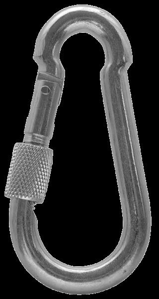 T-KARD Snap hooks with screw lock