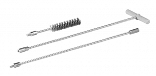 R-BRUSH Wire Brushes with threaded coupling for deep holes