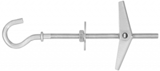 SPO Spring Toggle with Hook Bolt for use in Plasterboard